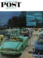 Saturday Evening Post, August 19, 1961 - Drive-In Movies