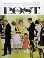 Saturday Evening Post, November 11, 1961 - Hitting the Buffet
