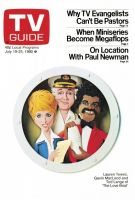 TV Guide, July 19, 1980 - Lauren Tewes, Gavin Macleod and Ted Lange of 'The Love Boat'