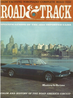Car Magazine, January 1, 1966 - Road & Track