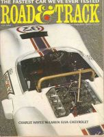 Car Magazine, July 1, 1966 - Road & Track