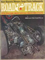Car Magazine, August 1, 1966 - Road & Track