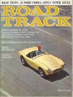 Car Magazine, September 1, 1962 - Road & Track