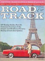 Car Magazine, September 1, 1963 - Road & Track