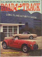 Car Magazine, September 1, 1966 - Road & Track