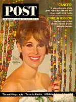 Saturday Evening Post, May 9, 1964 - Jill St. John