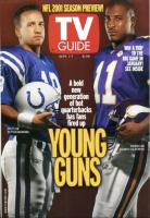 TV Guide, September 1, 2001 - NFL
