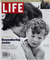 Life Magazine, August 1, 1999 - Remembering Jackie Kennedy
