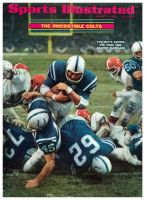 Sports Illustrated, January 6, 1969 - Baltimore Colts vs Cleveland Browns