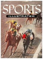 Sports Illustrated, January 10, 1955 -  Santa Anita Racetrack