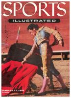 Sports Illustrated, January 17, 1955 -  Rafael Rodriguez - Bullfighting