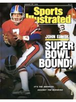 Sports Illustrated, January 25, 1988 - John Elway, Denver Broncos