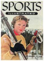 Sports Illustrated, January 31, 1955 -  Jill Kinmont