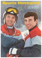 Sports Illustrated, February 5, 1968 - Skiers Billy Kidd and Jimmy Heuga