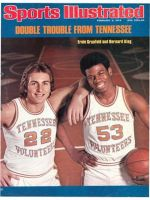 Sports Illustrated, February 9, 1976 - Grunfeld and King, Tennessee Volunteers