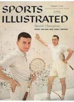 Sports Illustrated, February 10, 1958 - Henri Salaun and Diehl Mateer