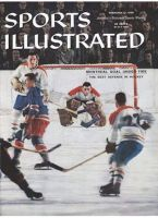 Sports Illustrated, February 17, 1958 - Jacques Plante, Montreal Canadiens