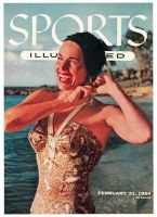 Sports Illustrated, February 21, 1955 - Swimsuit model Betty di Bugnano