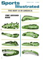 Sports Illustrated, February 22, 1965 - Golf Courses