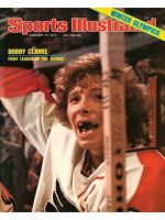 Sports Illustrated, February 23, 1976 - Bobby Clarke, Philadelphia Flyers