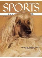 Sports Illustrated, March 12, 1956 - Afghan dog