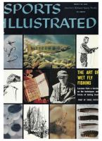 Sports Illustrated, March 28, 1960 - James Leisenring, fishing