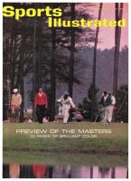 Sports Illustrated, April 1, 1963 - Ken Venturi, golf; Masters Preview