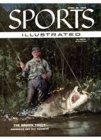 Sports Illustrated, April 30, 1956 - Dry Fly Fishing