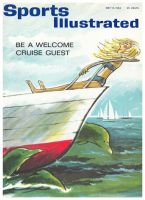 Sports Illustrated, May 13, 1963 - Be a Welcome Cruise Guest with eight pages of illustrations by Roy McKie