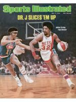 Sports Illustrated, May 17, 1976 - Julius Erving, Dr. J, New York Nets