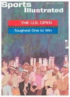 Sports Illustrated, June 15, 1964 - Arnold Palmer at US Open