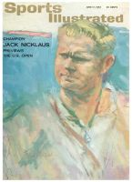 Sports Illustrated, June 17, 1963 - Jack Nicklaus, US Open Golf