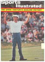 Sports Illustrated, June 29, 1964 - U.S. OPEN CHAMPION KEN VENTURI