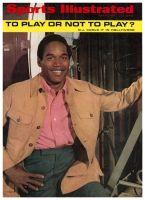Sports Illustrated, July 14, 1969 - OJ Simpson