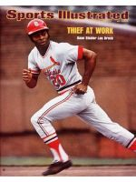 Sports Illustrated, July 22, 1974 - Lou Brock, St. Louis Cardinals
