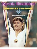 Sports Illustrated, August 2, 1976 - Nadia Comaneci, Gymnastics