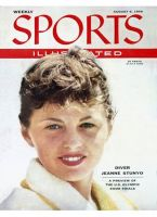 Sports Illustrated, August 6, 1956 - Jeanne Stunyo
