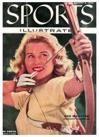 Sports Illustrated, August 8, 1955 - Ann Marston archery champion