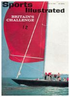 Sports Illustrated, August 24, 1964 - Sovereign Boat, Yachting America's Cup