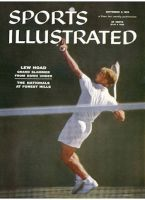 Sports Illustrated, September 3, 1956 - Lew Hoad, US open tennis