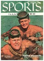 Sports Illustrated, September 5, 1955 - the Pinder Brothers