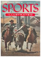 Sports Illustrated, September 20, 1954 - Calgary Stampede rodeo