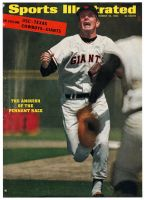 Sports Illustrated, September 26, 1966 - SF Giants' Gaylord Perry