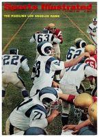 Sports Illustrated, October 3, 1966 - Roman Gabriel, Tommy McDonald of the LA Rams