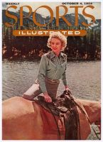 Sports Illustrated, October 4, 1954 - Cowgirl