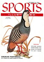 Sports Illustrated, October 10, 1955 - Chukar Partridge