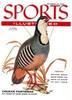 Sports Illustrated, October 10, 1955 - Chukar Partridge
