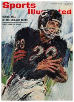 Sports Illustrated, October 14, 1963 - Ronnie Bull of the Chicago Bears
