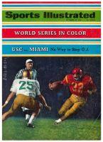 Sports Illustrated, October 14, 1968 - USC VS MIAMI, O.J. Simpson