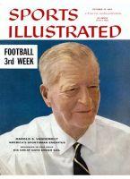 Sports Illustrated, October 15, 1956 - Harold S. Vanderbilt, Yachtsman